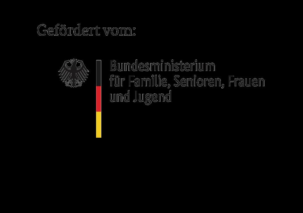 Logo - Bundesministerium für Familie, Senioren, Frauen und Jugend