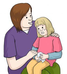 Sorgen um das Kind